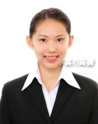 笑顔の証明写真 54 右のお嬢様の別バージョンの就活証明写真。 有名テレビキー局に就職!