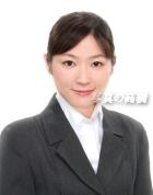 この横一列のお嬢様は同じ方です。企業によって写し方や表情が異なります就活 写真。履歴書 証明写真61