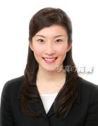 就活証明写真52 自然な微笑み CA キャビンアテンダント就活にうってつけ 髪型も就活ハーフアップ 人気の髪型です。履歴書の証明写真向きに決まり!