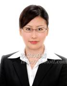 知的な笑みの就活証明写真65 就職 履歴書の証明写真 メガネ有り就活証明写真