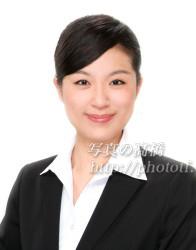 客室乗務員 髪型 前髪 写真19