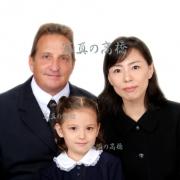 お受験用家族写真31