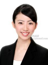 CA就活髪型 ハーフアップ ボブ ショート ,ANA客室乗務員 髪型写真01 CA FA 髪型前髪写真見本