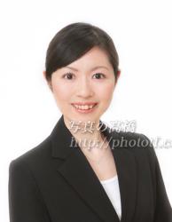 客室乗務員髪型写真71