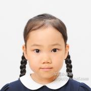 小学校お受験写真 髪型、服装見本に