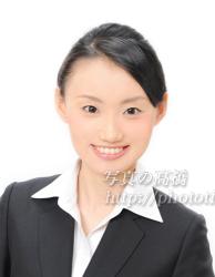客室乗務員髪型写真79