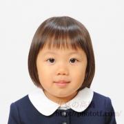 幼稚園お受験写真 髪型,服装見本