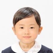 小学校お受験写真 服装,髪型見本
