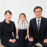 幼稚園受験家族写真 ご家族,服装ご参照