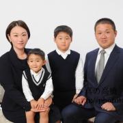 小学校お受験写真 受験用家族証明写真