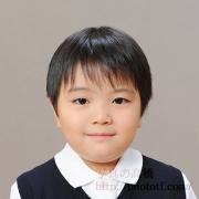 小学校お受験写真 髪型,服装サンプル