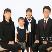 受験用家族写真8 3年前にもお姉ちゃまのお受験でお見え下さっています。