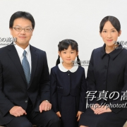 小学校受験写真,受験用家族証明写真は東京の写真館写真の高橋56