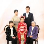 小岩で七五三家族写真