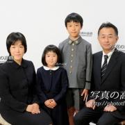 幼稚園受験写真 願書用家族証明写真16