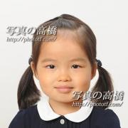幼稚園受験写真27 願書用写真