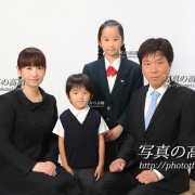 受験 願書用家族写真24