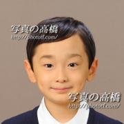 中学校 受験 写真  受験 願書用写真 東京の写真の高橋43