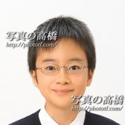 中学校 受験 写真  受験 願書用写真 東京の写真の高橋44