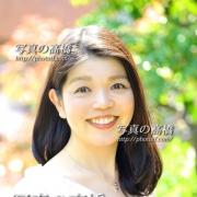 アナウンサーセミナー用写真は東京の写真スタジオ。明るい笑顔で。