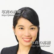 アナウンサー就職用写真 東京 スタジオ半身 笑顔で