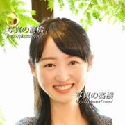 アナウンサー就職写真 ES笑顔のスナップ写真