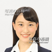 アナウンサーリクルート写真 スタジオバストアップ証明写真。東京の就活証明写真館