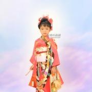 江戸川区フォトスタジオで七五三記念写真