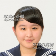 中学,高校受験証明写真 東京江戸川区写真館67