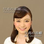 アナウンサー就活写真は東京の写真館,笑顔