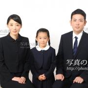 小学校受験,家族写真36 家族の髪型,服装