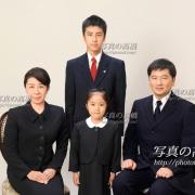 幼稚園小学校受験願書写真,家族写真は東京5
