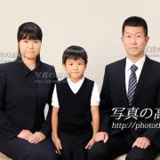 幼稚園受験,小学校受験,家族証明写真19