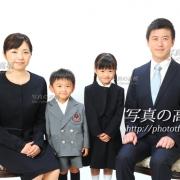 幼稚園,小学校受験,家族証明写真東京写真館23