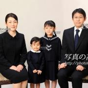 お受験写真,幼稚園受験願書用写真,家族証明写真は東京の受験写真30
