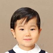 お受験写真,幼稚園受験願書用写真は東京の受験写真館29