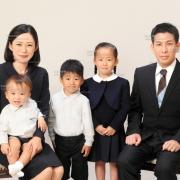 お受験,家族写真32