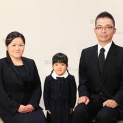 お受験写真,幼稚園受験願書用写真,家族証明写真36