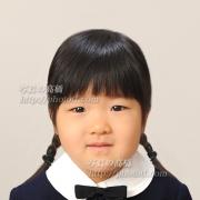 お受験写真,幼稚園受験願書用写真は東京の受験写真館35