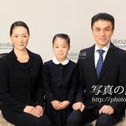 お受験写真,小学校受験願書用写真,家族証明写真は東京の受験写真32