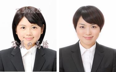 リクルート証明写真,東京,女性