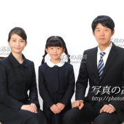 小学校受験,家族写真38。 家族の髪型,服装見本