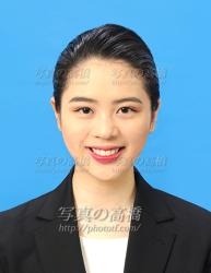 外資エアラインca髪型285