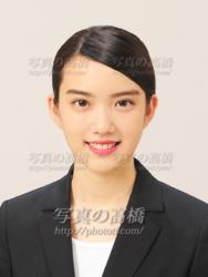 エアラインca髪型前髪298