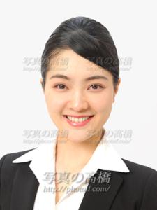 CA GS就活写真,東京 笑顔で