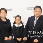 小学校お受験家族写真42