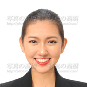 CA GS就活写真,東京 表情は笑顔
