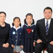 受験用家族証明写真ご家族の服装もご参考にどうぞ