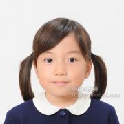 小学校受験写真 髪型,服装ご参考に