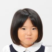 お受験写真,幼稚園願書証明写真
